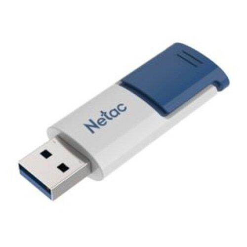 Фото - Флешка Netac U182 64GB, белый/голубой флешка netac u505 usb 3 0 64gb черный