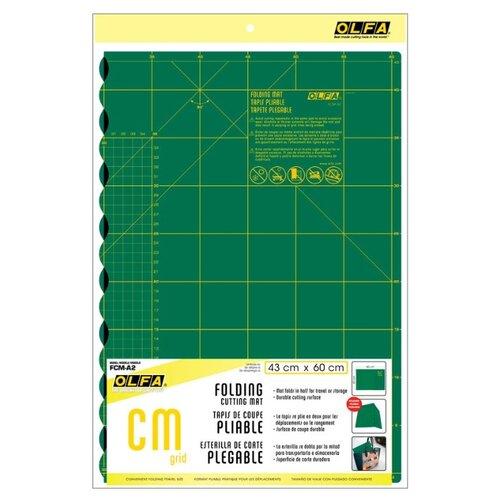 Купить Мат раскройный складной односторонний, 60 х 43 см Olfa FCM-A2, Инструменты и аксессуары