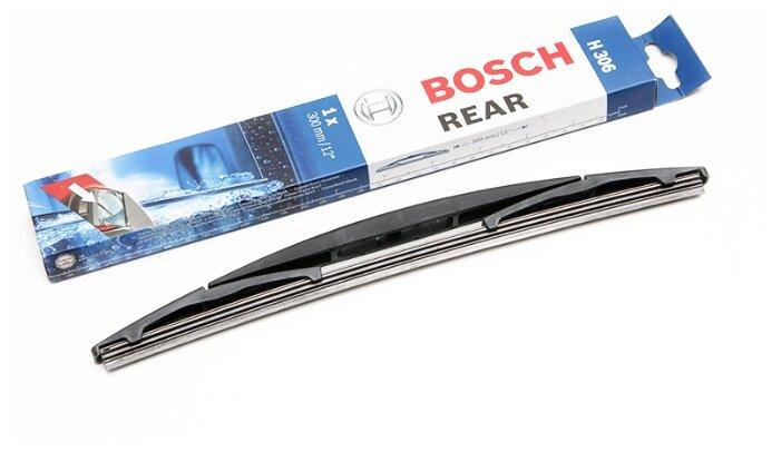 Щетка стеклоочистителя каркасная BOSCH Rear H306 300 мм