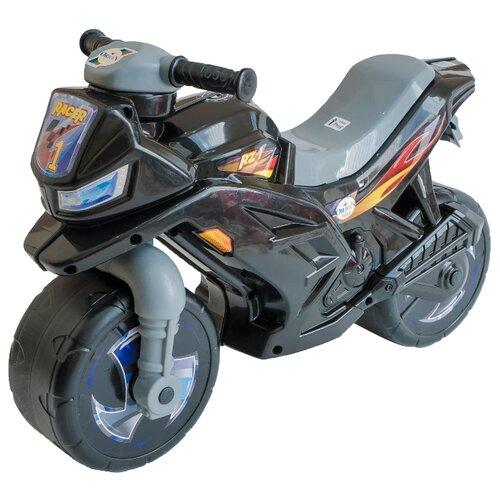 Каталка-толокар Orion Toys Мотоцикл 2-х колесный (501) черный каталка толокар orion toys мотоцикл 2 х колесный 501 зеленый