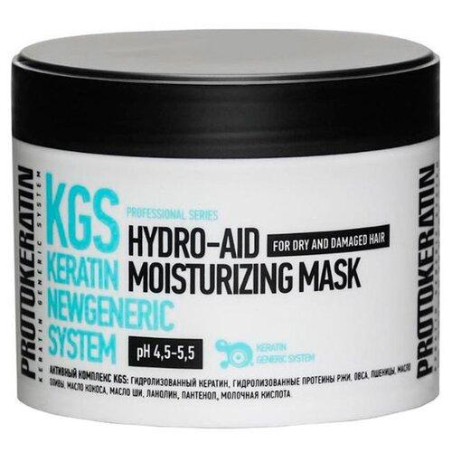 Купить PROTOKERATIN Экспресс-маска увлажнение для жестких сухих волос, 250 мл