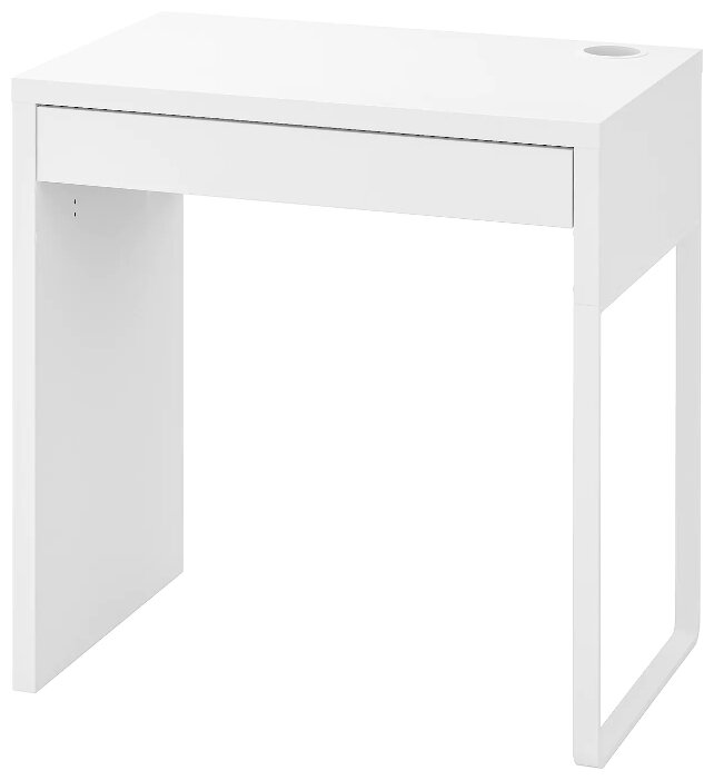 Письменный стол IKEA Микке — купить с доставкой по выгодной цене на Яндекс.Маркете