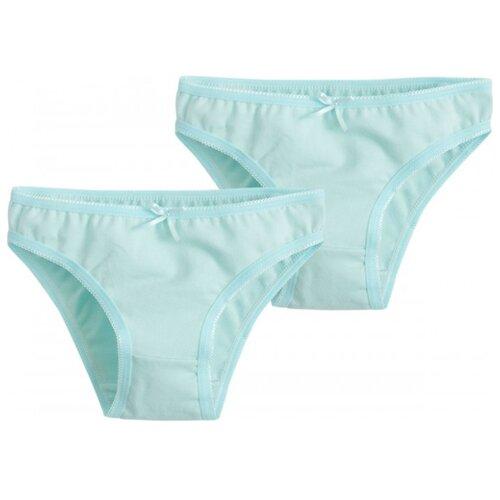 Купить Трусики Bossa Nova 2 шт., размер 32, голубой, Белье и купальники