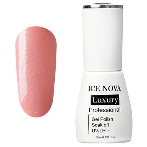 цена Гель-лак ICE NOVA Luxury Professional, 10 мл, оттенок 115 pearl nude онлайн в 2017 году