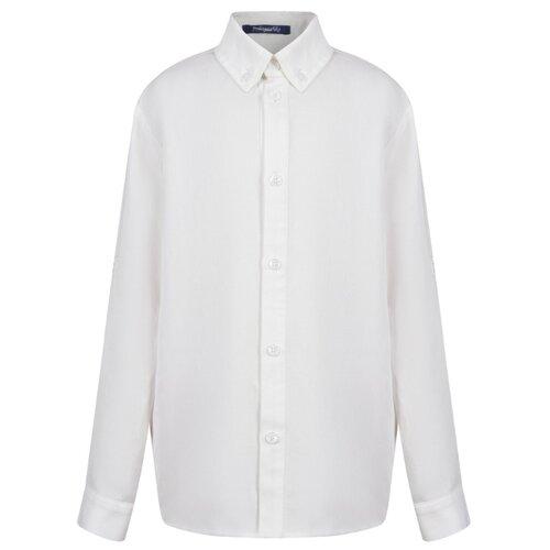 Рубашка Stilnyashka размер 104, белый юбка stilnyashka размер 104 желтый