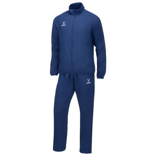 Спортивный костюм Jogel размер XS, темно-синий/темно-синий/белый платье oodji ultra цвет красный белый 14001071 13 46148 4512s размер xs 42 170