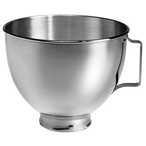 KitchenAid чаша для миксера K45SBWH серебристый