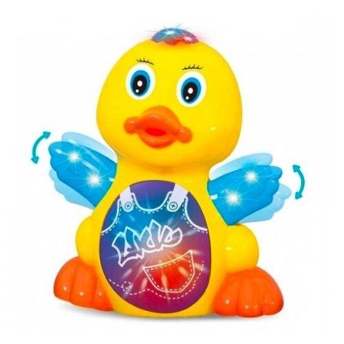 Купить Развивающая игрушка Zhorya Потеша Утенок желтый, Развивающие игрушки