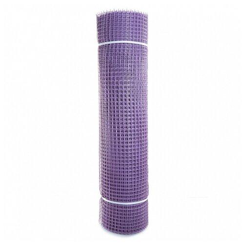 Садовая сетка квадратная 15х15 (1,0х20) ПРОФИ фиолетовый сетка пластиковая садовая квадрат желтая ср 15 1 20 15х15 мм 1х20 м