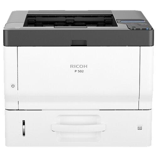 Фото - Принтер Ricoh P 502, черный/белый принтер ricoh sp 330dn белый черный