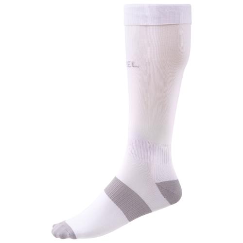 Гетры Jogel размер 35-37, белый/серый