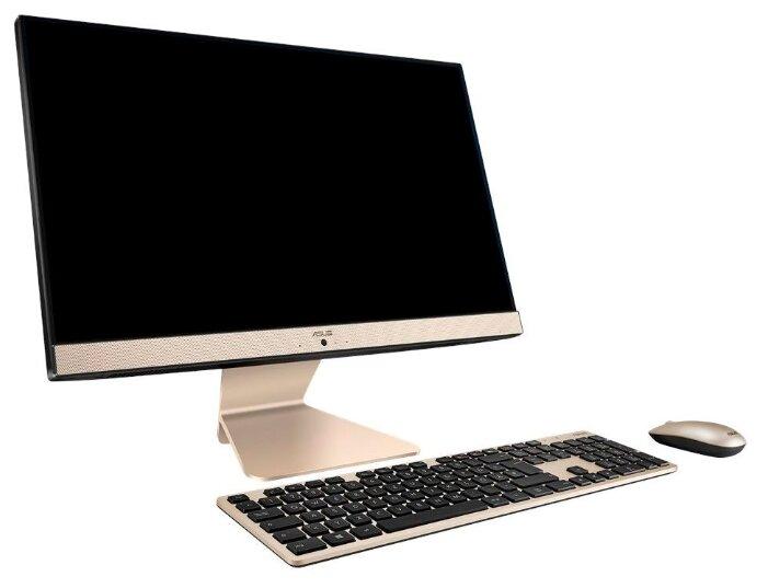 Моноблок ASUS V222GBK-BA021T Black 90PT0221-M00310 (Intel Pentium J5005 1.5 GHz/4096Mb/500Gb/nVidia GeForce MX110 2048Mb//Wi-Fi/Bluetooth/Cam/21.5/1920x1080/Windows 10 Home 64-bit)