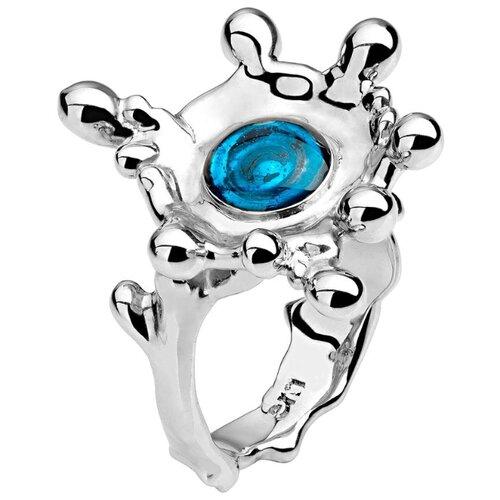 Эстет Кольцо с 1 эмалью из серебра 01К0511224Э, размер 16 эстет кольцо с 1 эмалью из серебра 01к0511224э размер 16