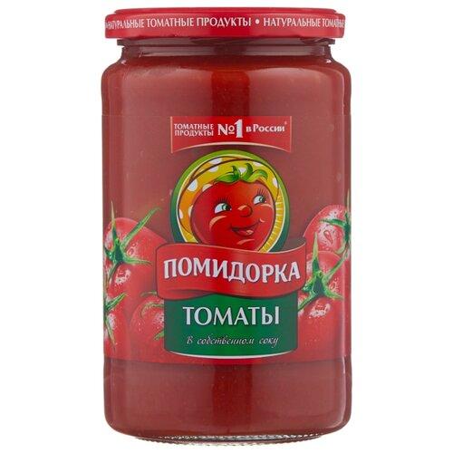 Томаты в собственном соку Помидорка стеклянная банка 680 г lorado томаты в собственном соку 720 мл
