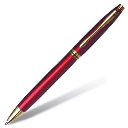 BRAUBERG Ручка шариковая De luxe 1 мм, синий цвет чернил