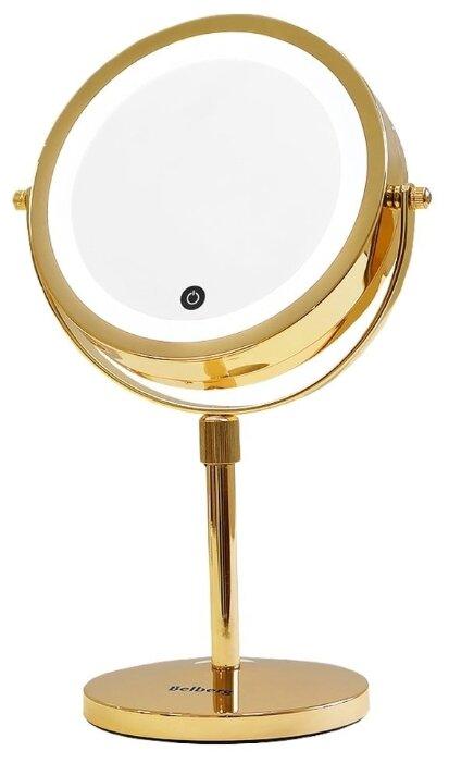 Зеркало косметическое настольное Belberg BZ-03 с подсветкой