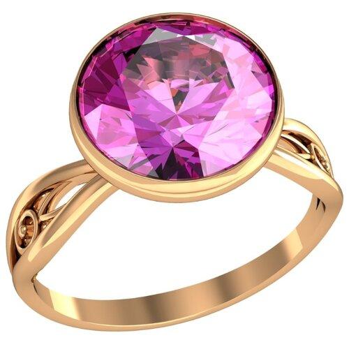 Фото - Приволжский Ювелир Кольцо с 1 алпанитом из серебра с позолотой 272078-FA46, размер 18 приволжский ювелир кольцо с 1 алпанитом из серебра с позолотой 272158 fa77 размер 18