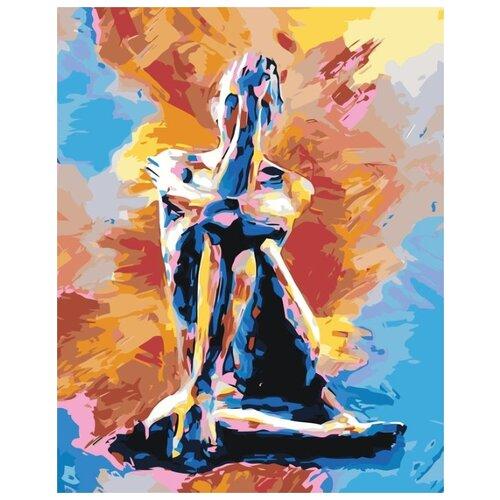 Купить Картина по номерам Живопись по Номерам Абстрактная девушка , 40x50 см, Живопись по номерам, Картины по номерам и контурам