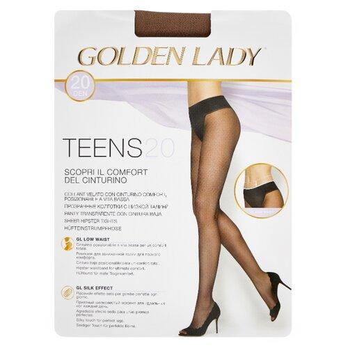 Колготки Golden Lady Teens Vita Bassa 20 den, размер 4-L, daino (бежевый) колготки golden lady vita 20 den размер 4 l daino бежевый
