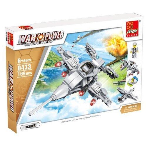 Купить Конструктор Peizhi War Power 0433 Истребитель, Конструкторы
