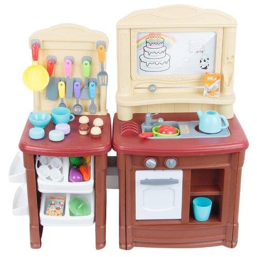 Кухня Игруша i-1685747 бежевый/коричневый магнитный конструктор игруша magic magnetic i jh6883