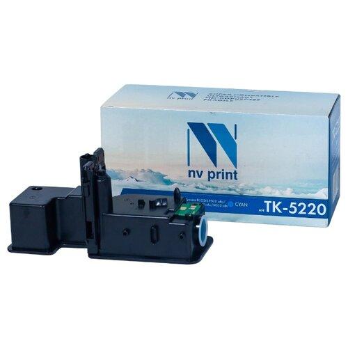 Фото - Картридж NV Print TK-5220 Cyan для Kyocera, совместимый картридж nv print tk 8335 cyan для kyocera совместимый