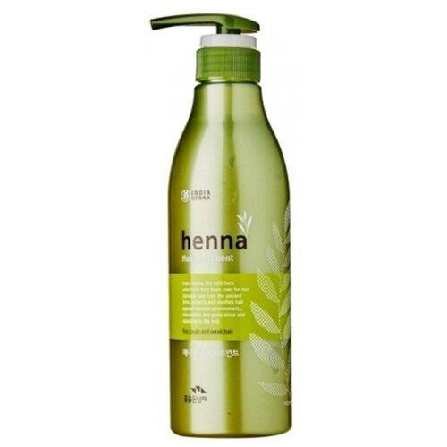FLOR de MAN Маска для волос и кожи головы Henna Hair Treatment Pack 500 мл.