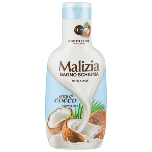 Malizia Пена для ванн Coconut milk, 1 л