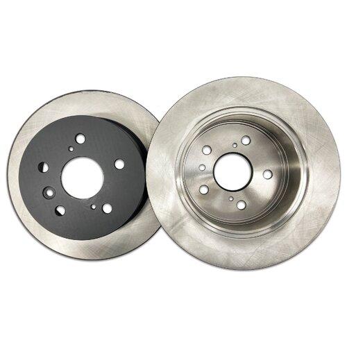 Комплект тормозных дисков задний NIBK RN1432 281x10 для Toyota Camry (2 шт.)