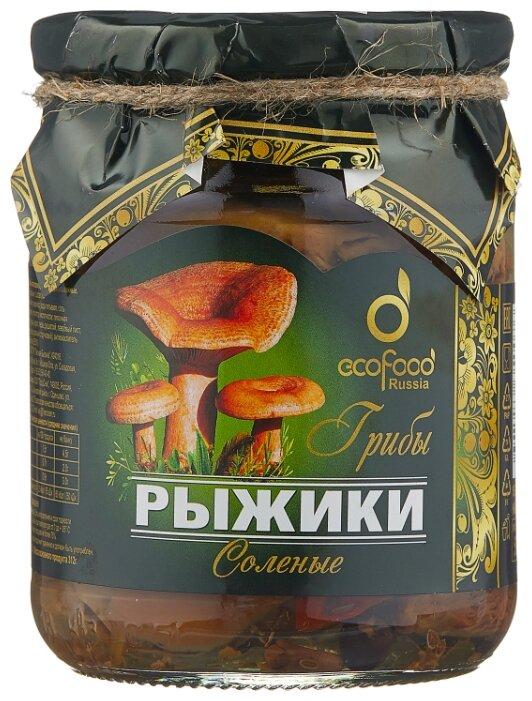 Рыжики Ecofood соленые