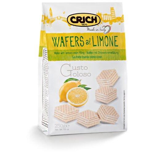 Вафли Crich с лимонно-кремовой начинкой 250 г