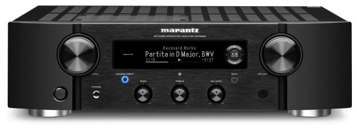 Интегральный усилитель Marantz PM7000N black фото 1