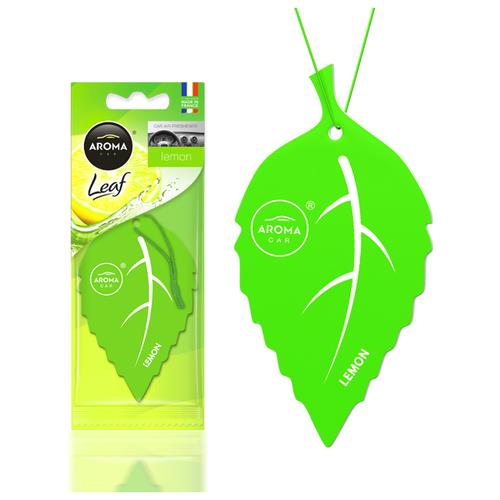 Ароматизатор автомобильный (подвесной) Aroma Car Leaf, Lemon
