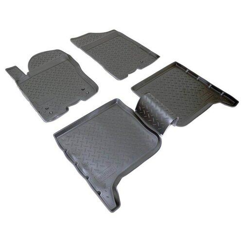 Комплект ковриков NorPlast NPL-Po-33-75 4 шт. черный комплект ковриков norplast npl po 29 33 4 шт черный