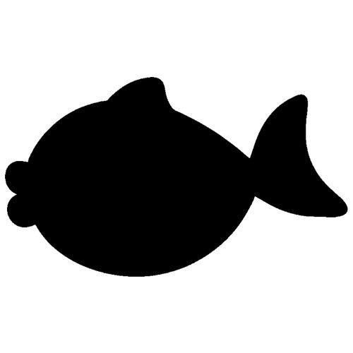 Наклейка Melcom Золотая рыбка, меловая наклейка melcom уютный чайник 04 меловая