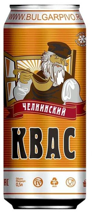 Квас Челнинский Хлебный