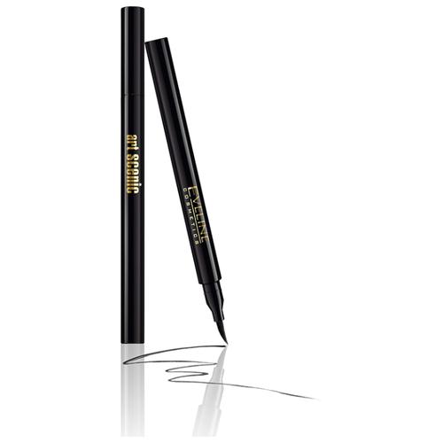 Eveline Cosmetics Подводка-фломастер для глаз Art Professional Make-Up, оттенок черный