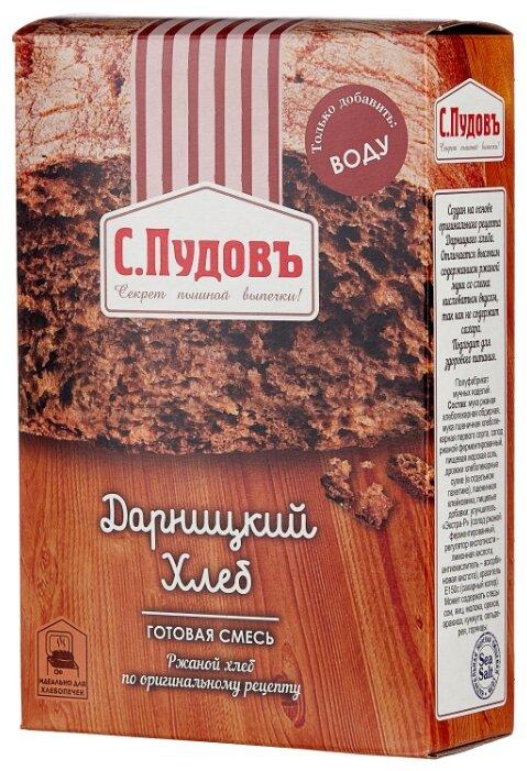 С.Пудовъ Смесь для выпечки хлеба Дарницкий хлеб, 0.5 кг
