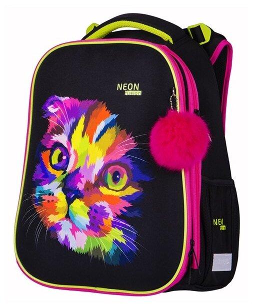 Berlingo ранец Expert Neon Cat