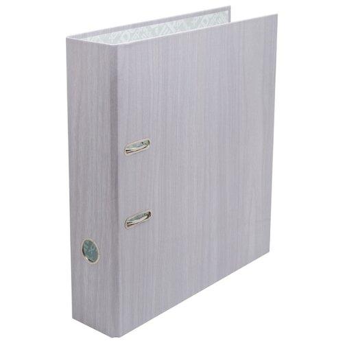 Купить Index Папка-регистратор 80 мм, ламинированная серый, Файлы и папки