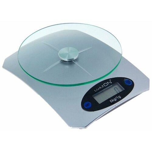 Кухонные весы Luazon LVK-502 серебристый
