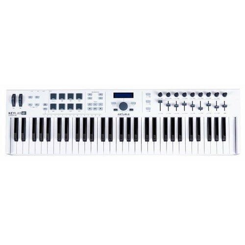 MIDI-клавиатура Arturia KeyLab Essential 61 белый
