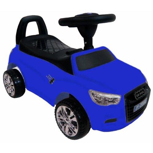 Купить Каталка-толокар RiverToys Audi JY-Z01A со звуковыми эффектами синий, Каталки и качалки