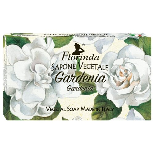 Мыло кусковое Florinda Цветы и Цветы Гардения, 100 г