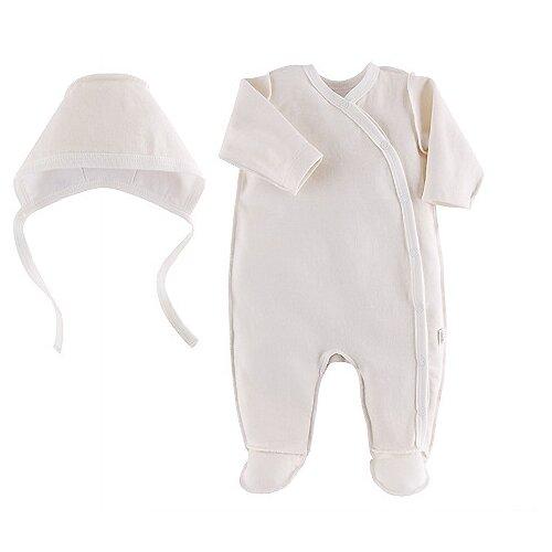 Комплект одежды Наша мама размер 62, молочный