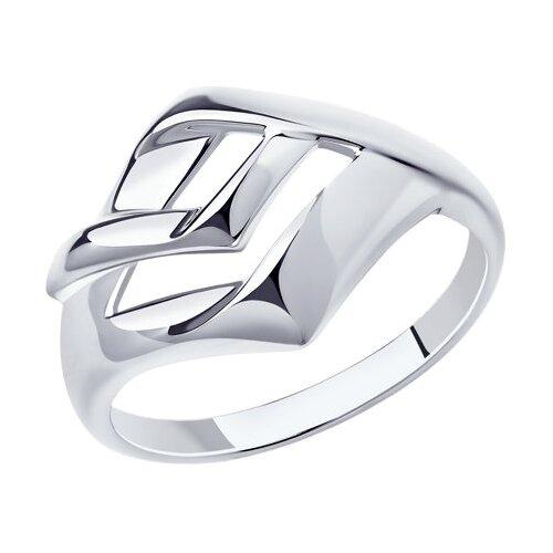 Diamant Кольцо из серебра 94-110-00620-1, размер 17.5 фото
