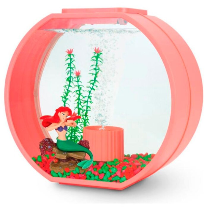 Аквариумный набор 20 л (фильтр, освещение, компрессор) Triol Disney Ariel