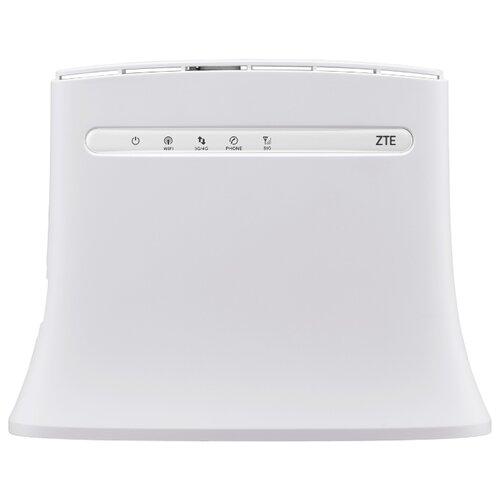 Wi-Fi роутер ZTE MF283 белый интернет центр zte mf283ru белый