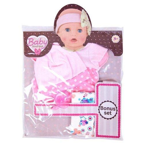 ABtoys Комплект одежды PT-01001 розовый/горошек