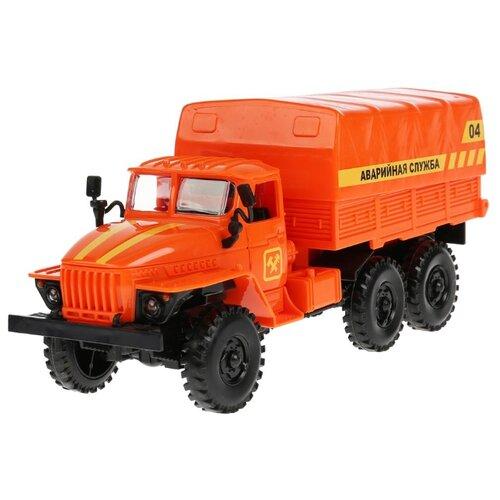 Грузовик Joy Toy Автопарк Урал Аварийная служба (A553-H11048) оранжевый грузовик play smart автопарк урал аварийная служба 9464a 25 см оранжевый